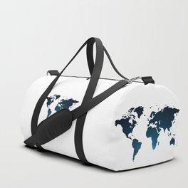Heaven Meets Earth - Galaxy World Map Duffle Bag