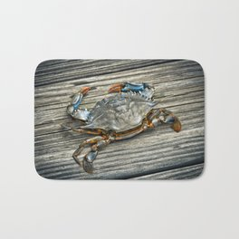 """Busted Peeler"" - Maryland Blue Crab Bath Mat"