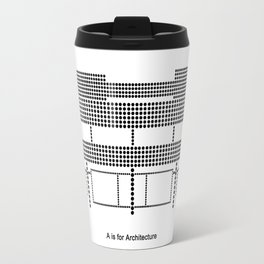 Corbu - A is for Architecture Travel Mug
