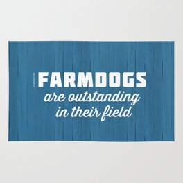 Outstanding Farmdogs Rug