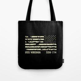 USS Virginia Tote Bag