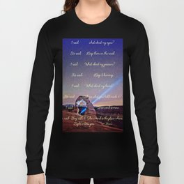 The Wound Is The Place Where The Light Enters You - Rumi Long Sleeve T-shirt