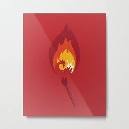 Phoenix Metal Print