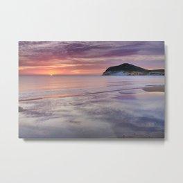 Sunrise At Morron De Los Genoveses. Cabo De Gata Natural Park. Metal Print