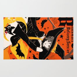 Black Cat's Delivery Service Rug