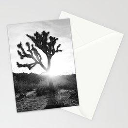 Joshua Tree with Sun Flare Stationery Cards