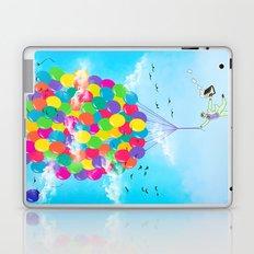 Neon Flight Laptop & iPad Skin