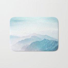 Pastel landscape 04 Bath Mat