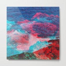lava waves Metal Print