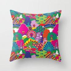 Girls Girls Girl Throw Pillow
