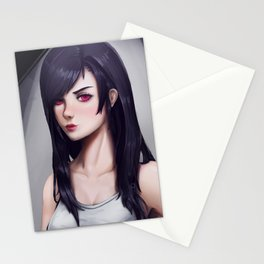 Tifa Lockhart Stationery Cards