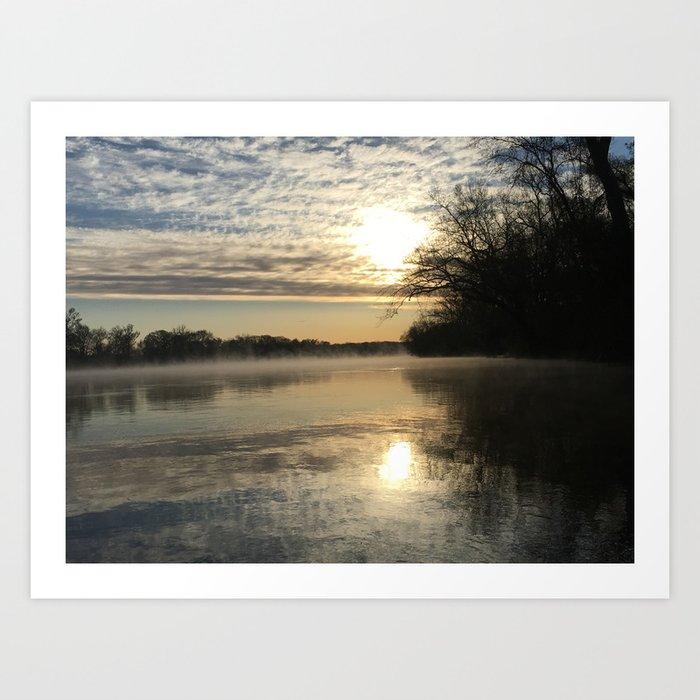 Robious Landing Sunrise Kunstdrucke