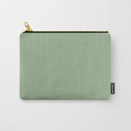 Solid Color SAGE GREEN Carry-All Pouch