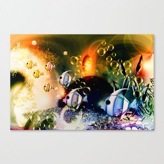 Aquaworld Canvas Print