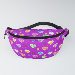 Planet Express Sweethearts Pattern Fanny Pack