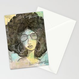Dope Girl Stationery Cards