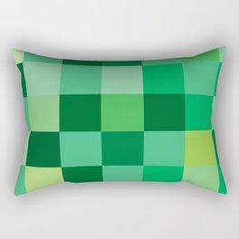 Squares of Luck Rectangular Pillow