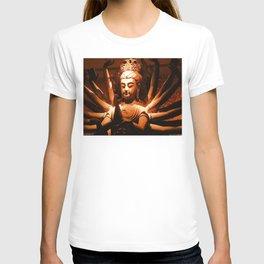durga, indian goddess T-shirt