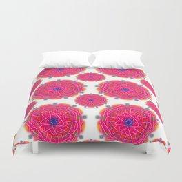 Pink Mandalas Duvet Cover