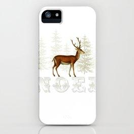 Wandering deer  iPhone Case