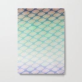 Wind Pattern Metal Print