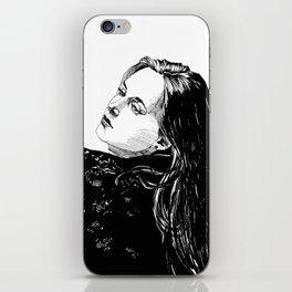Lace Portrait T. iPhone Skin
