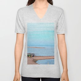 Island's End and Beyond Unisex V-Neck