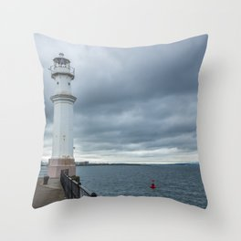 Light Tower in Edingburgh Throw Pillow