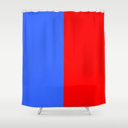 Flag of Paris 3 Shower Curtain