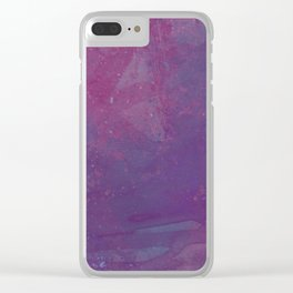 Spiderwebs Clear iPhone Case