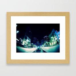 Downtown Winnipeg Framed Art Print