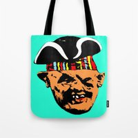 """goonies Tote Bags featuring """"Mourning My Youth"""" Series 