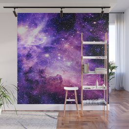 Galaxy Nebula Purple Pink : Carina Nebula Wall Mural