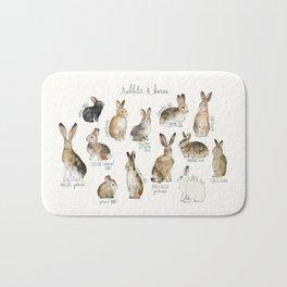 Rabbits & Hares Badematte