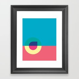 Cacho Shapes LXXIII Framed Art Print