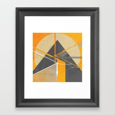 Pyramid Gyza Framed Art Print