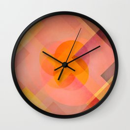 Sun Reflections Wall Clock
