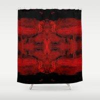 destiny Shower Curtains featuring Destiny by Jen Sparks Art