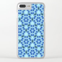 Delicate Snowflakes Clear iPhone Case