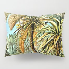 TROPICAL JUNGLE-Ernst Haeckel Pillow Sham