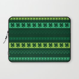 Clover Borders Pattern Laptop Sleeve