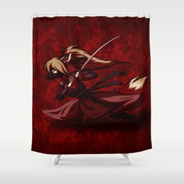 Warrior Chen Shower Curtain
