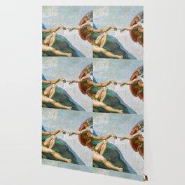 Creation Of Adam Painting Wallpaper