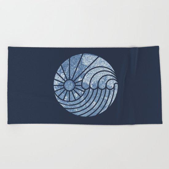 Sea of Serenity Beach Towel