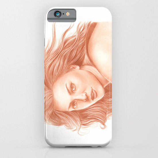 Woman Portrait 3 iPhone & iPod Case