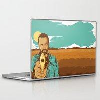 jesse pinkman Laptop & iPad Skins featuring BREAKING BAD | JESSE PINKMAN by Daniel Mackey