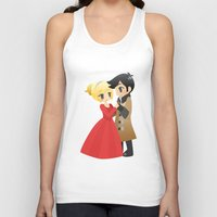 ouat Tank Tops featuring OUAT - Captain Swan Formal by Choco-Minto