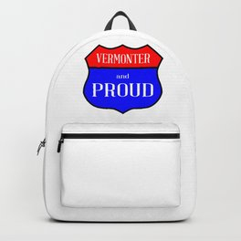 Vermonter And Proud Backpack