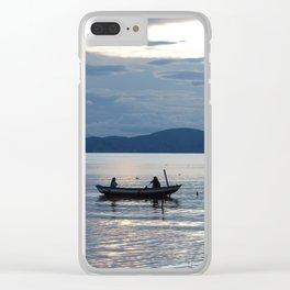 Titicaca 1 Clear iPhone Case