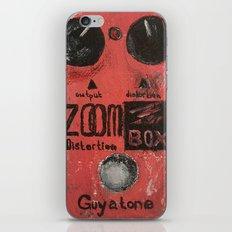 Guyatone PS 102 Zoom Box Distortion iPhone & iPod Skin